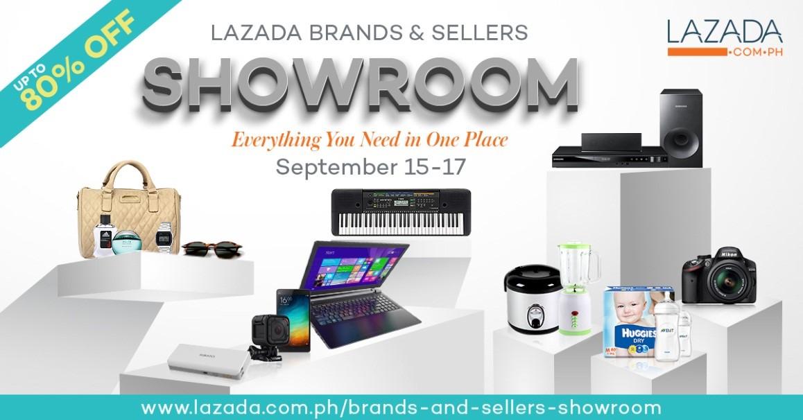 Lazada Brands and Sellers' Showroom