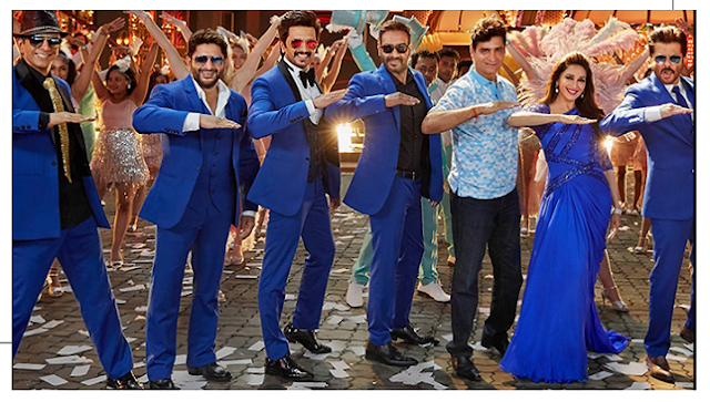 Total Dhamal cast