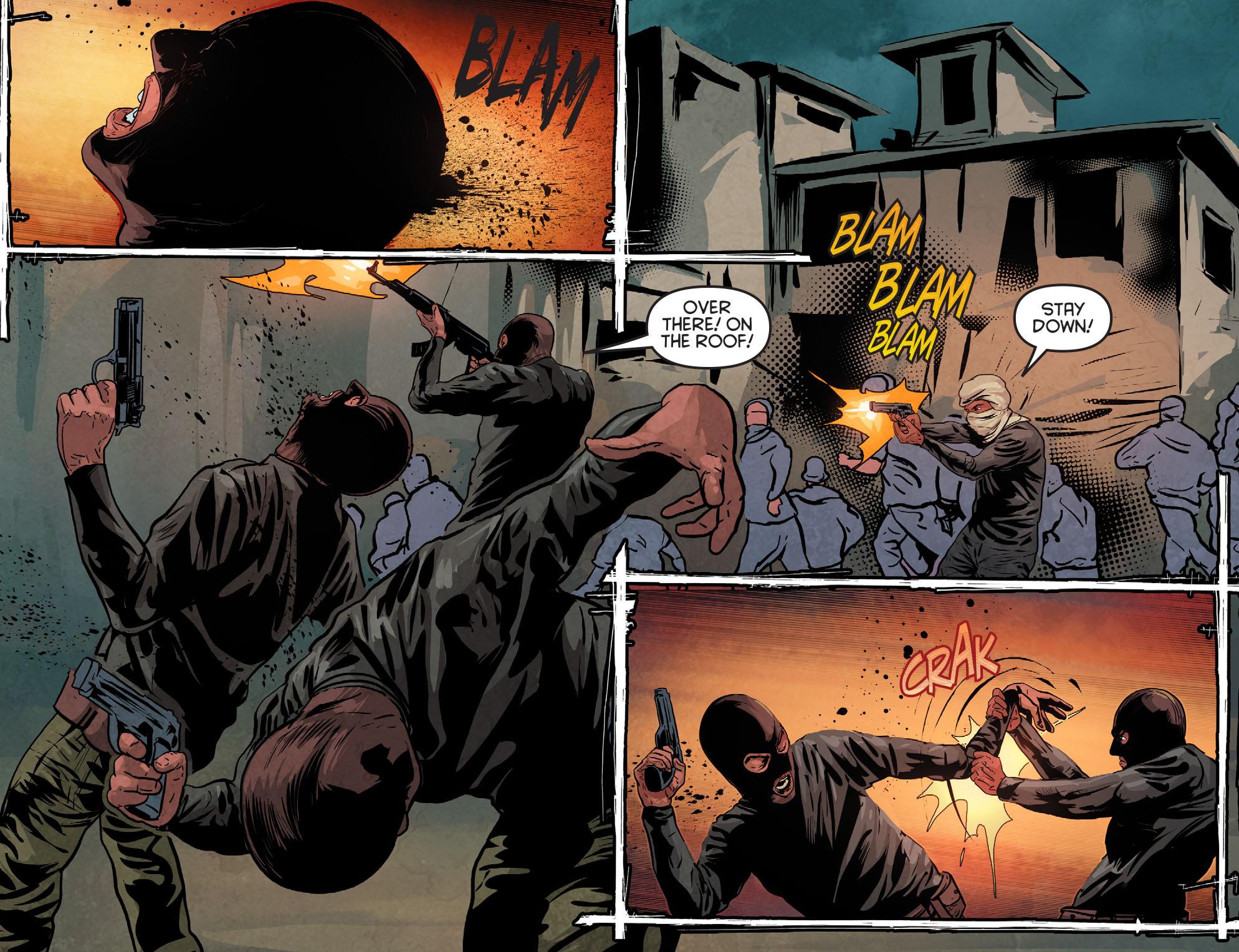 Read online Arrow: Season 2.5 [I] comic -  Issue #11 - 16