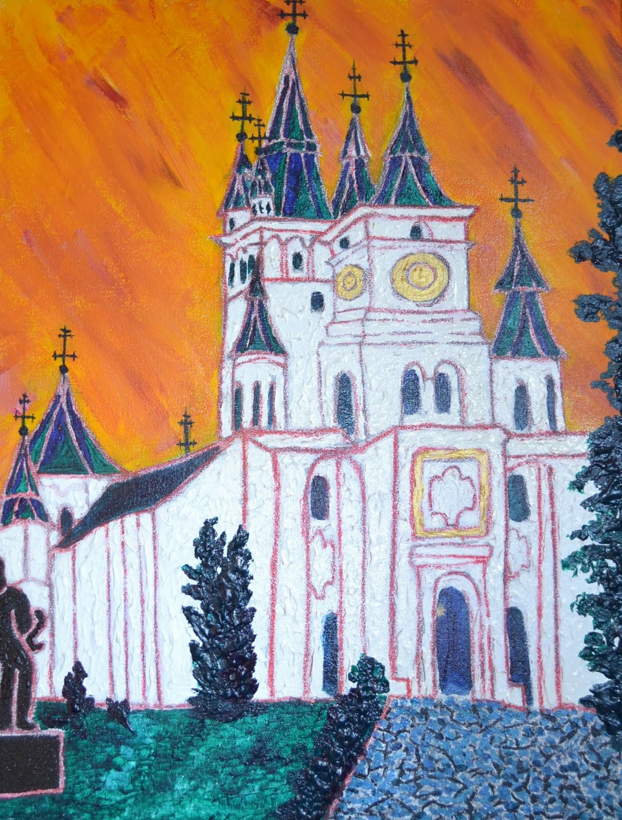 Saint Nicholas Church by Mireille Eastman