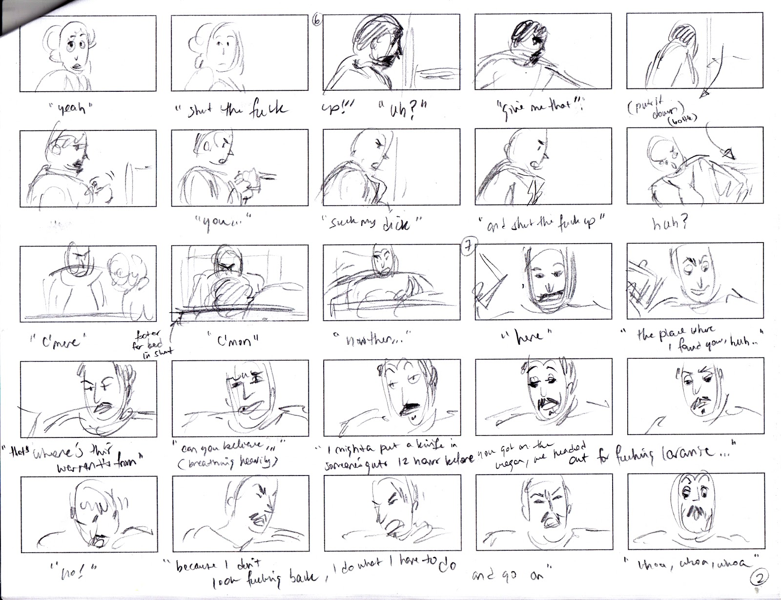 What the fuck is storyboarding