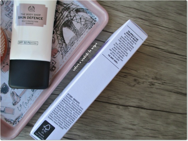 Protección Solar: Skin Defence de The Body Shop