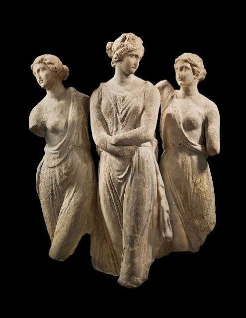 The Three Graces. Hellenistic. 2nd - 3rd Century BC