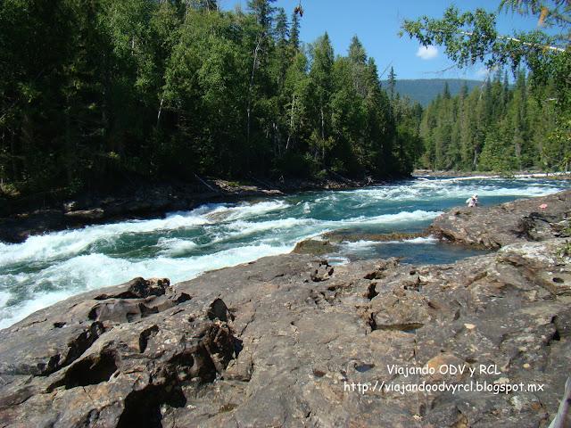 Bailey¨s Chute, Wells Gray Provincial Park. Canada. Viajando ODV y RCL  http://viajandoodvyrcl.blogspot.mx