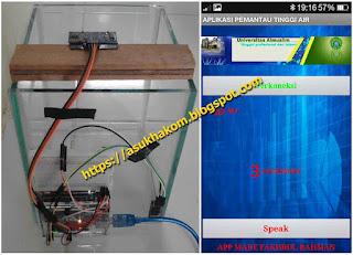 Pendeteksi Bahaya Banjir Dengan Arduino Berbasis Android