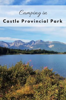 Camping in Castle Provincial Park, Alberta