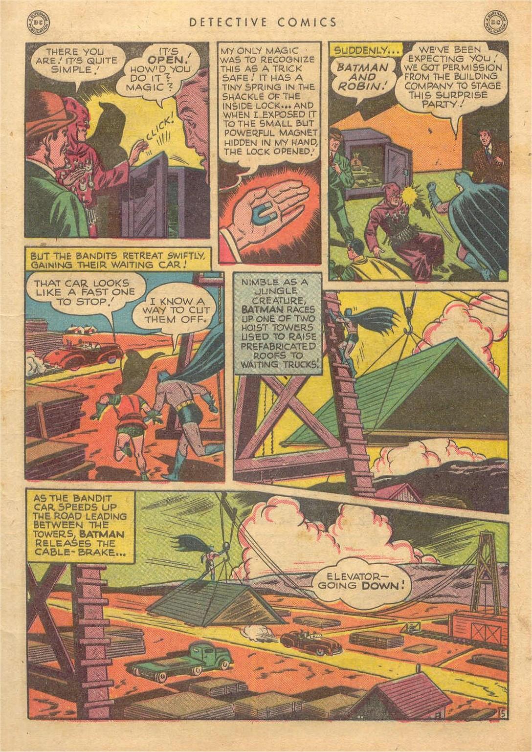 Read online Detective Comics (1937) comic -  Issue #132 - 7