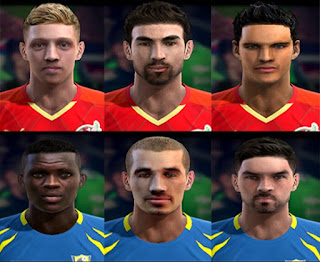 Faces, Denis Terentjev, Moussa Doumbia, Nika Kacharava, Guillermo Cotugno, Maksim Batov, Solomon Kvirkvelia, Pes 2013