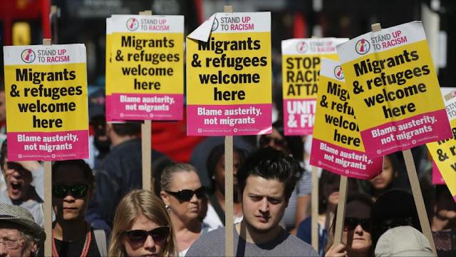 Británicos denuncian ataque racista a ciudadano iraní en Londres