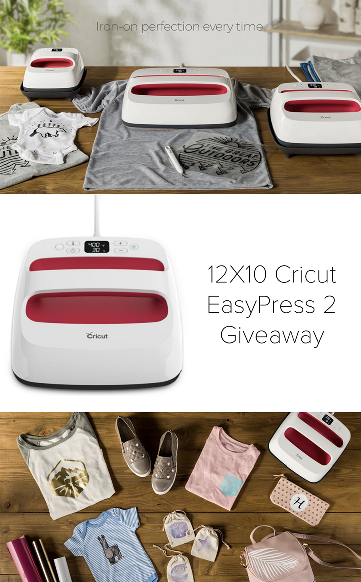 Enter to Win an EasyPress 2!