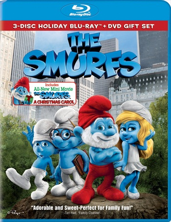 The Smurfs 2011 Dual Audio Hindi 720p BluRay 800mb