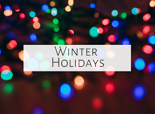 Christmas and other winter holidays in the music room