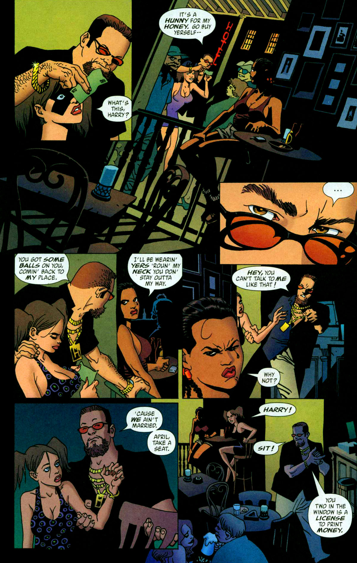 Read online 100 Bullets comic -  Issue #56 - 8