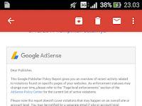 Cara Mengetahui Konten Yang Melanggar Kebijakan Google Adsense