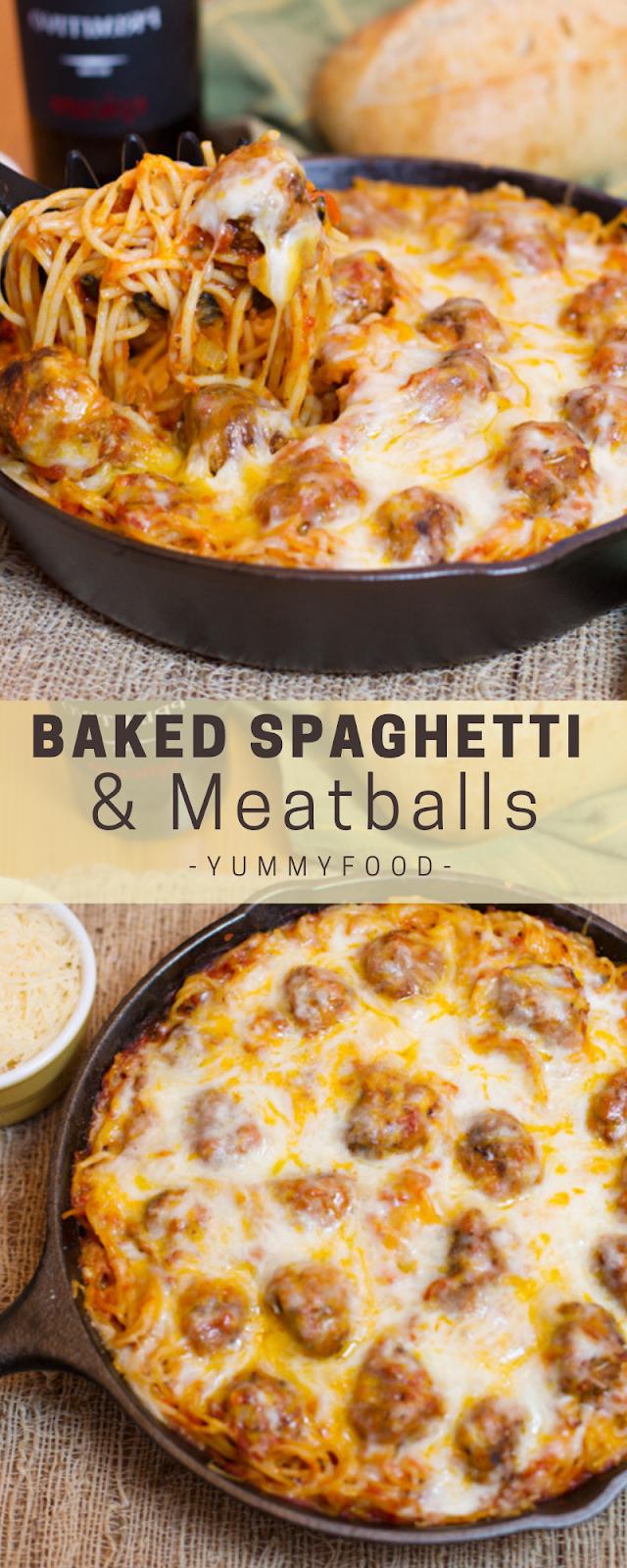 Bаkеd Spaghetti & Mеаtbаllѕ