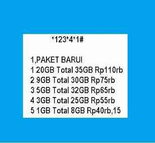 Cara daftar paket internet murah indosat  Cara Daftar Paket Internet Indosat 25 Ribu bulanan kartu Im3 kuota 6Gb berikut cara aktivasinya