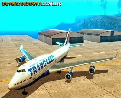 Boeing 747-400 para GTA San Andreas