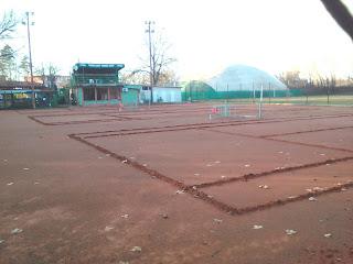 Yambol, Tennis Courts, Winter, Indoor Tennis,