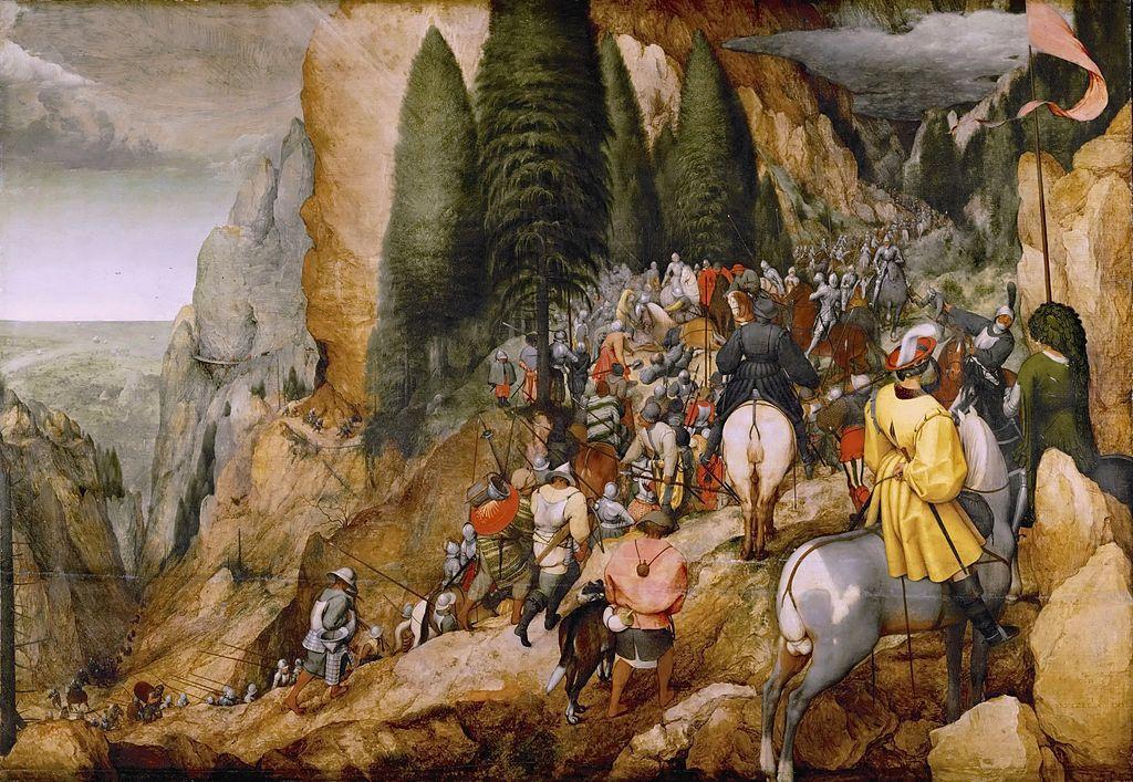 A Conversão de São Paulo - Pinturas com temas tirado da bíblia