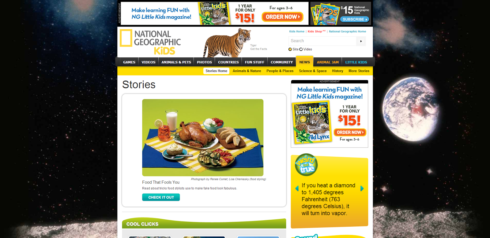national geographic existing happening articles