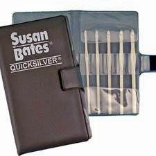 Susan Bates Quicksilver Crochet Hook Set