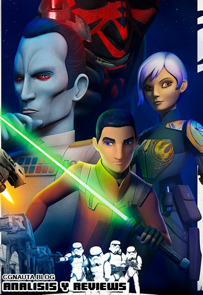 Star Wars Rebels (2014) Temporada 4 Episodio 1-2 \