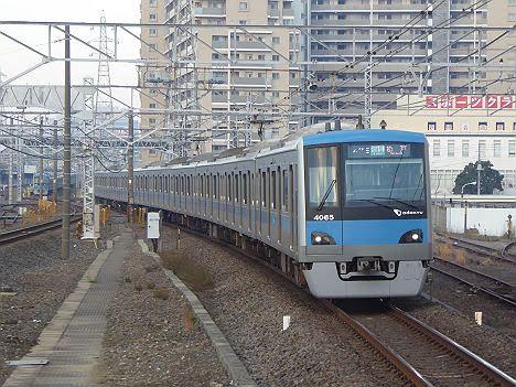 【平日1本だけ!】小田急4000形の松戸行き各駅停車
