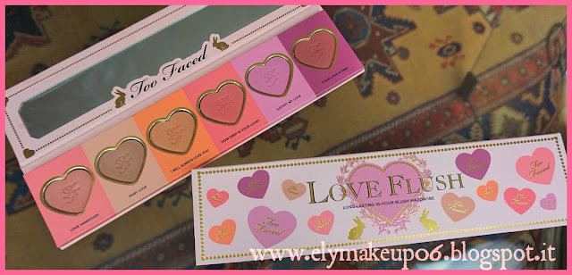 elymakeup love flush long lasting 16 hours blush wardrobe palette too faced swatch review e. Black Bedroom Furniture Sets. Home Design Ideas