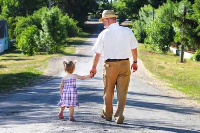 los abuelos y los nietos