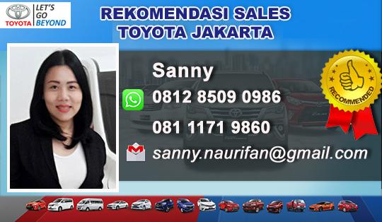 Rekomendasi Sales Toyota Juanda - Jakarta Pusat