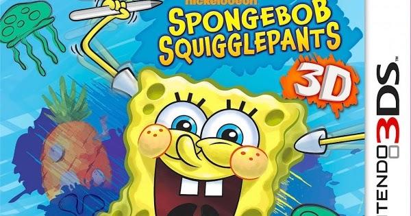 Cias para 3DS: Spongebob Squigglepants 3D