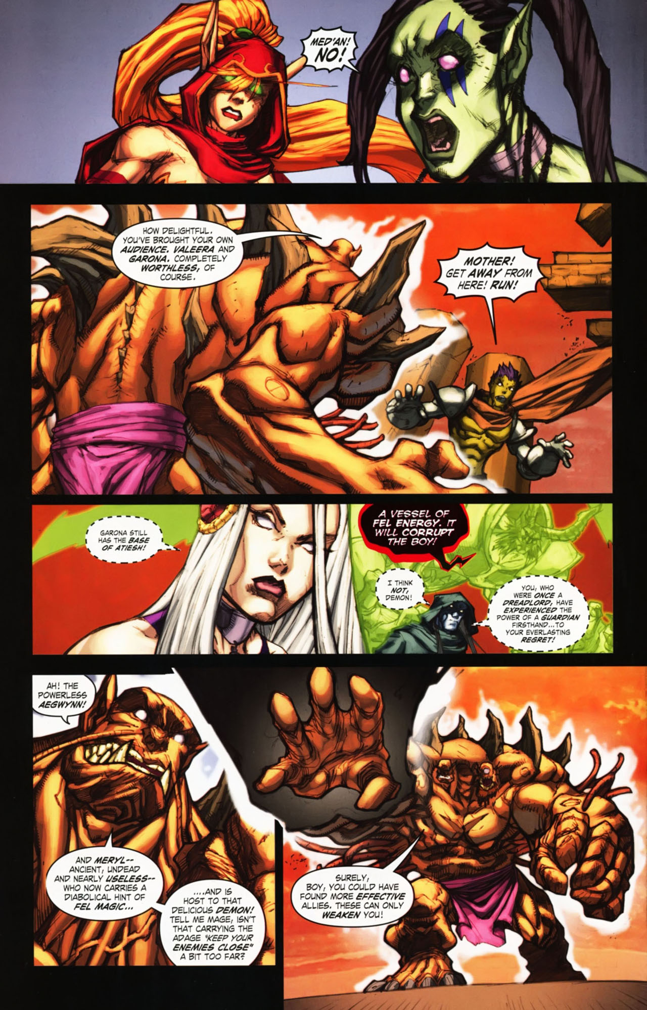 Read online World of Warcraft comic -  Issue #25 - 13