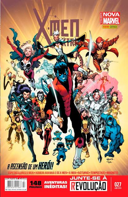 Checklist Marvel/Panini (Julho/2019 - pág.08) - Página 3 X-Men%2BExtra%2B27