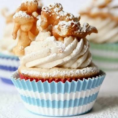 Funnel Cake Cupcake Recipe