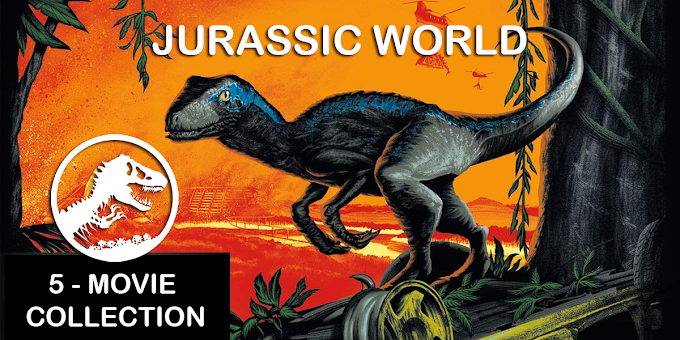 Get all five Jurassic Movies for $28 on Amazon (Blu-Ray+Digital)