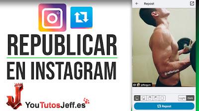 Republicar Imágenes y Vídeos de Instagram con Nombre de Autor - Trucos Instagram