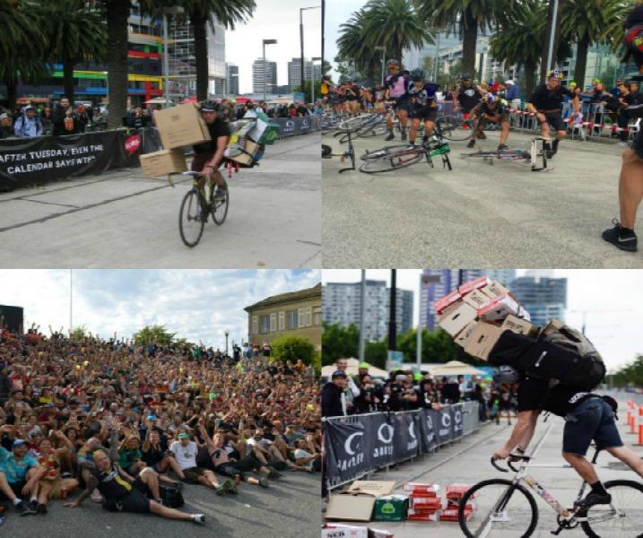Biker couriers em competição