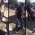 Vecinos tapan un bache con sus propios recursos: Policía los multa y los obliga a destaparlo