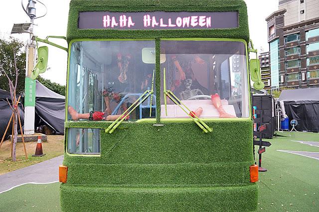 DSC05986 - 勤美綠園道恐怖巴士來襲│吸血鬼的棺材、骷髏人監獄與胯下往後看的俏皮鬼