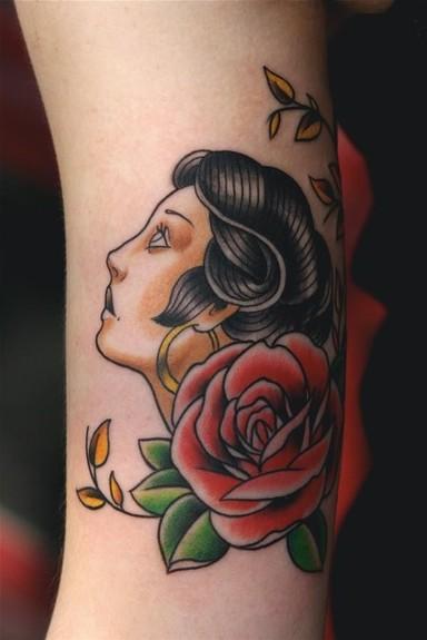 Traditional American Tattoos: Tattoo Gallery: AmericanTraditional Tattoo