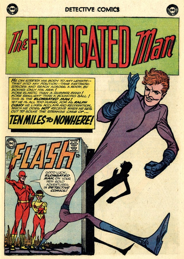 Ralph Dibny The World Famous Elongated Man An Ear In The