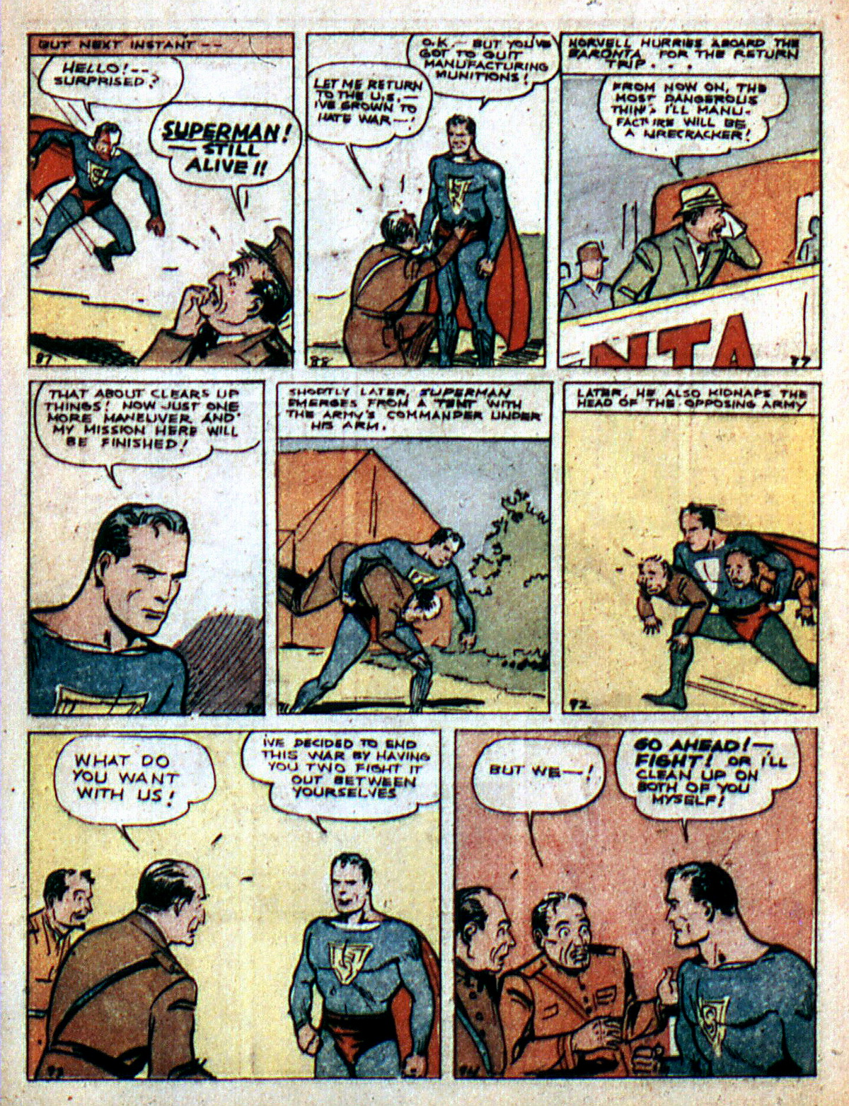 Read online Action Comics (1938) comic -  Issue #2 - 14