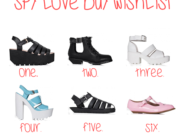 Spy Love Buy Wishlist!