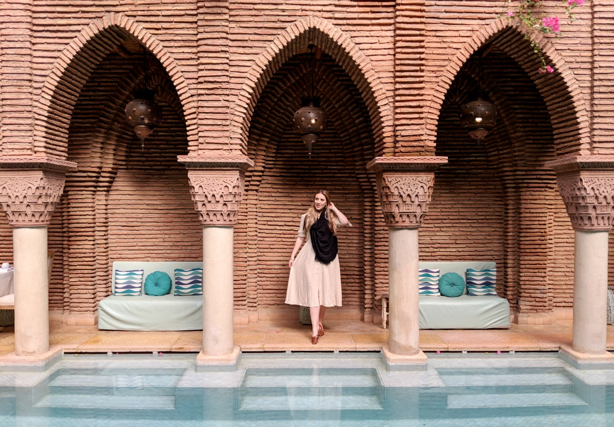 La Sultana Marrakech Luxury Hotel Swimming Pool