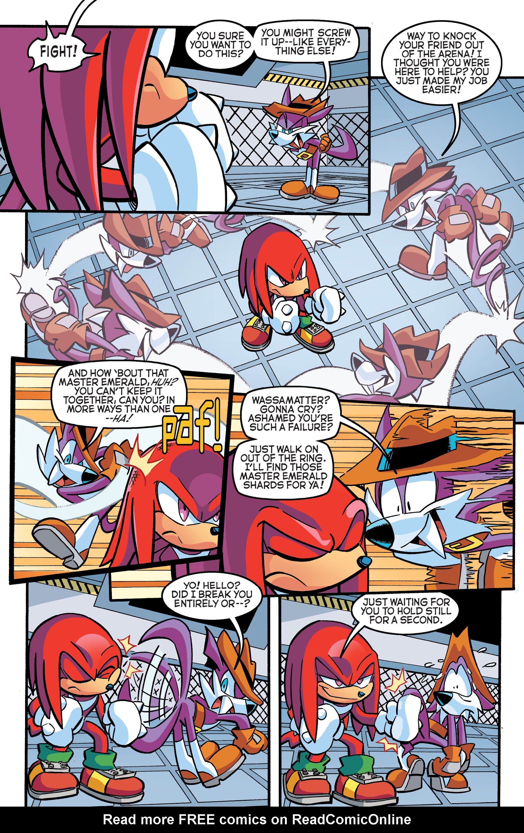 Read online Sonic The Hedgehog comic -  Issue #270 - 18