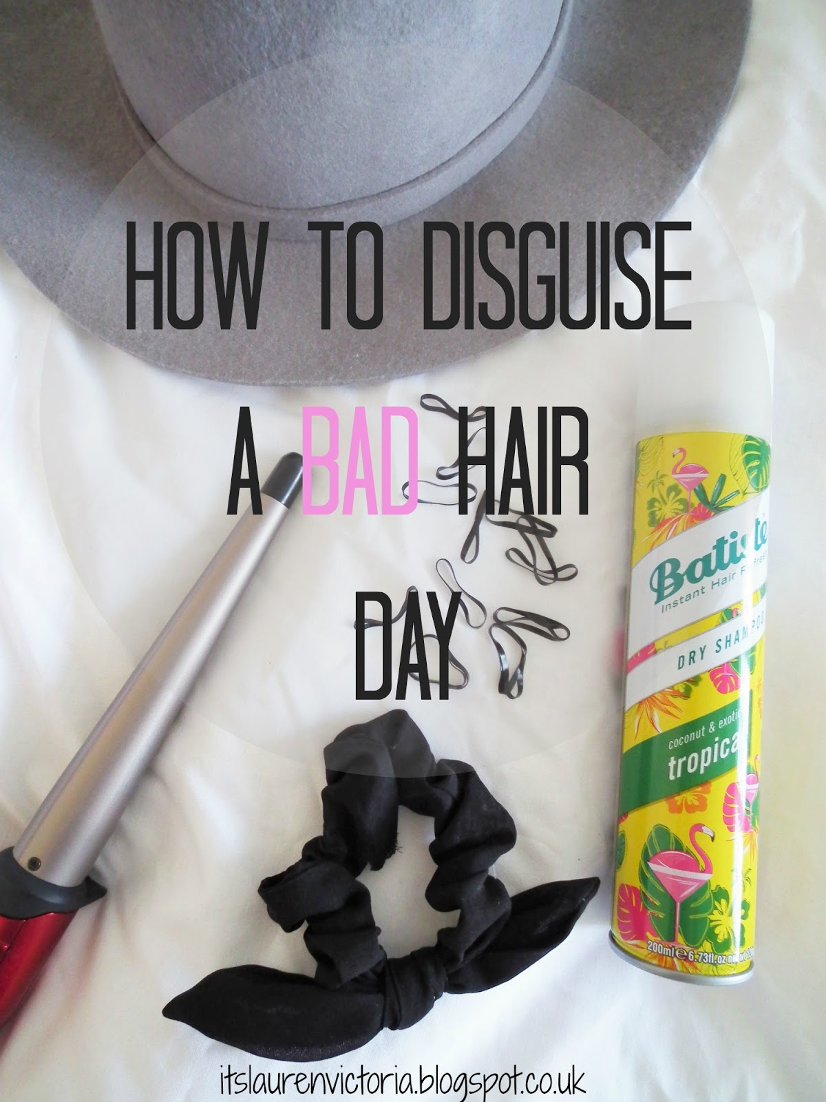 How To Disguise A Bad Hair Day