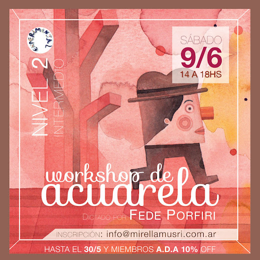 Workshop de Acuarelas - Level Chu