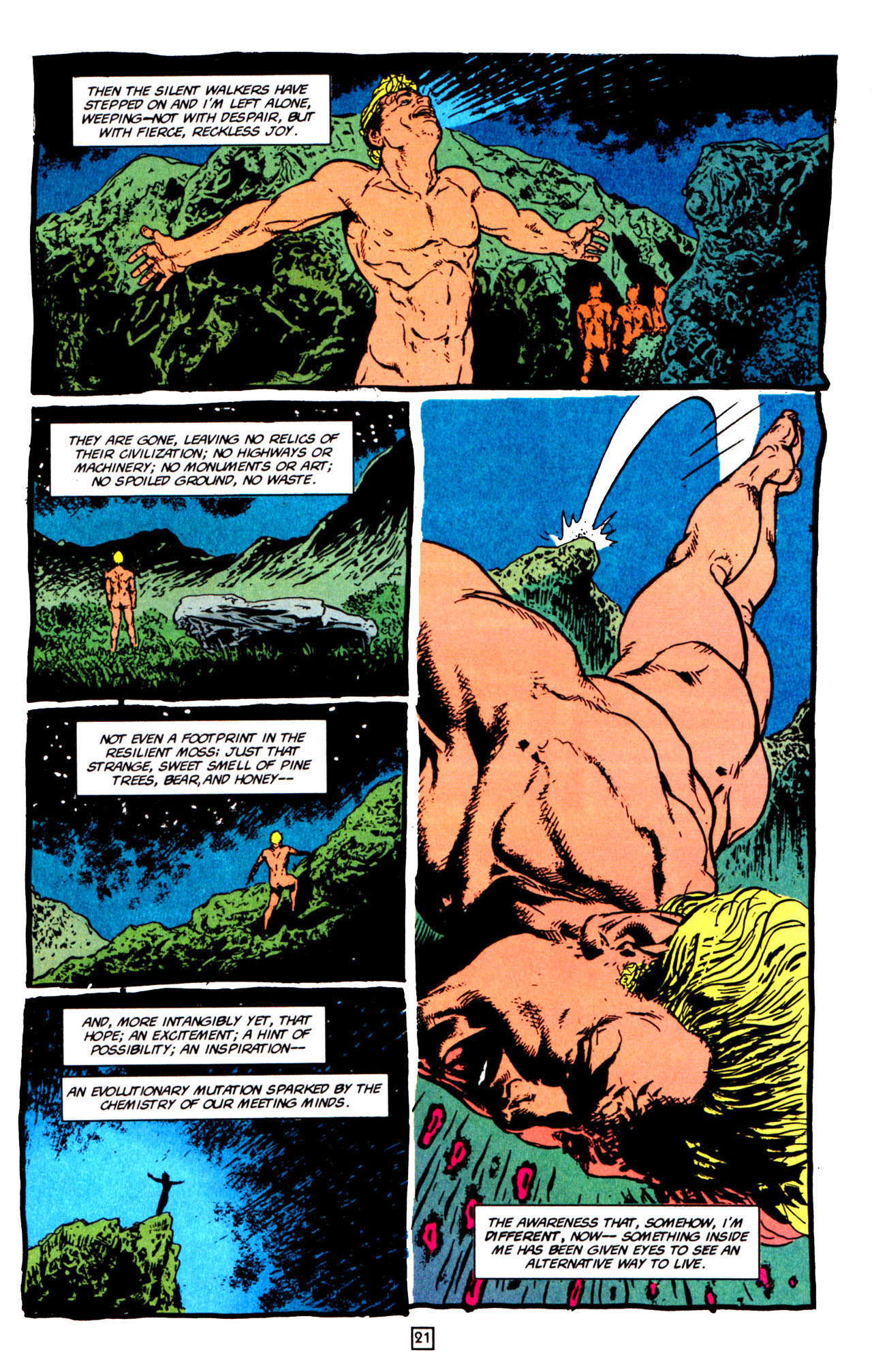 Read online Animal Man (1988) comic -  Issue #66 - 24
