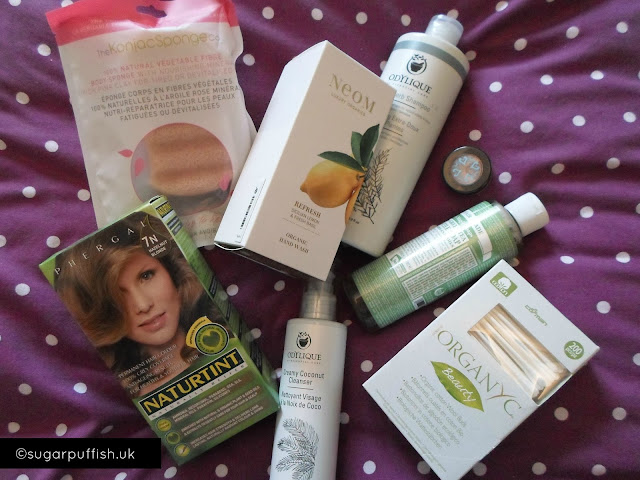 Sugarpuffish Natural and Organic skincare haul