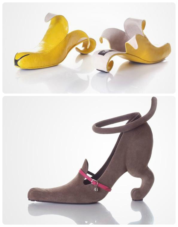 Những đôi giày có kiểu dáng kỳ lạ nhất thế giới2